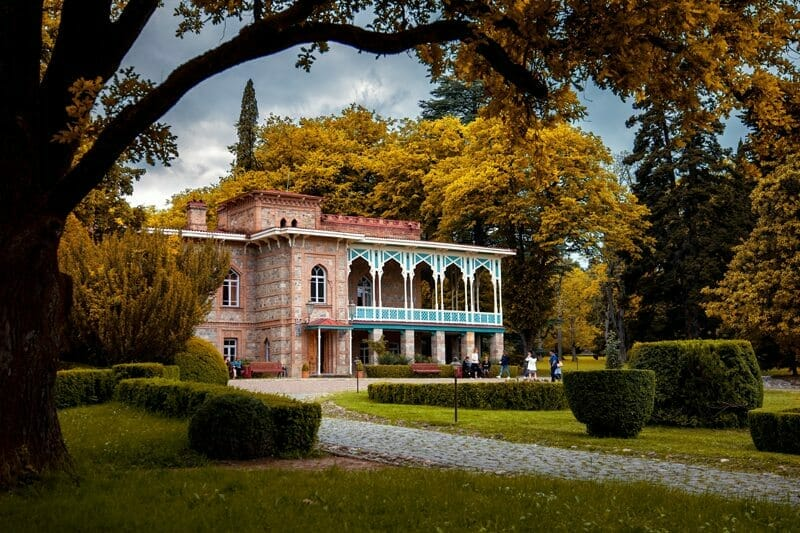 Alexander Chavchavadze's palace in Tsinandali